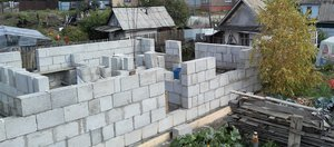 Послушал соседа и построил дом из полистиролбетона