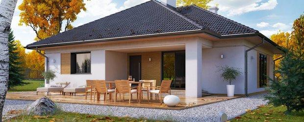 Проект дома из газобетона для большой семьи
