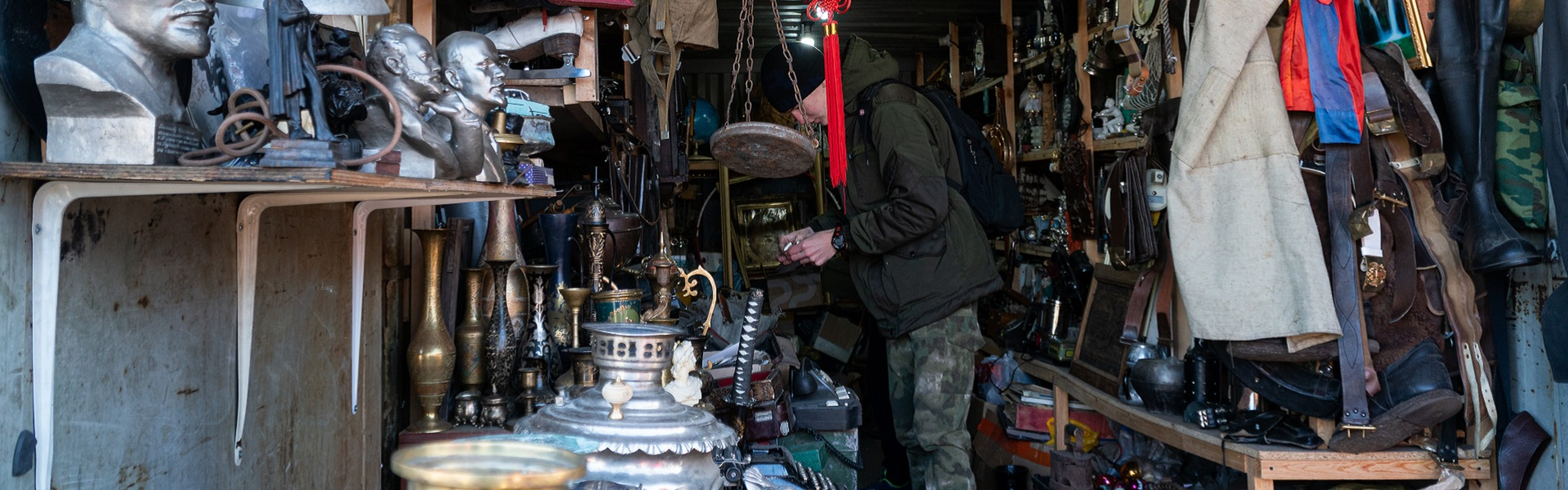 Истории вещей и рассказы людей с иркутского блошиного рынка