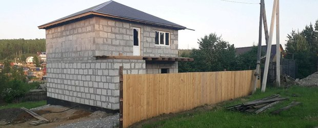 Как я построил дом из полистиролбетона
