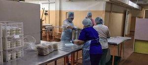 Как кормят пациентов с коронавирусом в госпитале ветеранов