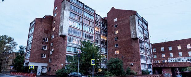 Иркутский необрутализм: дом на бульваре Гагарина