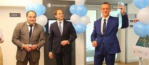 Банк «Открытие» представил первый флагманский офис в Иркутске