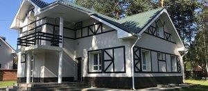 Двухэтажный дом из полистиролбетона за четыре миллиона рублей