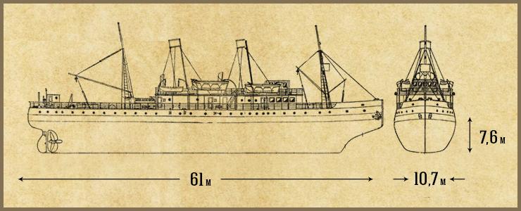 Паровой ледокол российского и советского флота, старейший из сохранившихся ледоколов в мире. В 1900 году он был спущен на воду. А сейчас ледокол стал кораблем-музеем.