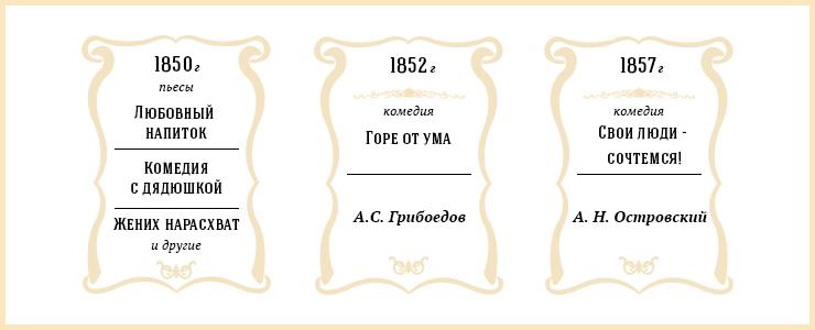 Иркутск стал третьим провинциальным городом, где открылись светские театры. Первым в городе появился драматический театр.