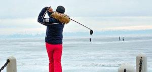 Турнир по ледовому гольфу пройдёт на Байкале 11 и 12 марта