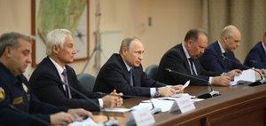 Трансляция визита Владимира Путина в Иркутск