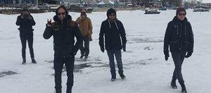 Группа The Rasmus после концерта в Иркутске побывала на Байкале