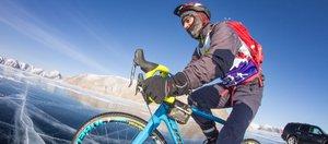 Соревнования «Ледовый шторм» на Байкале