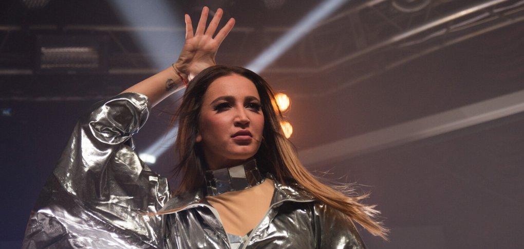 Российская звезда выступила в «Дикой Лошади».