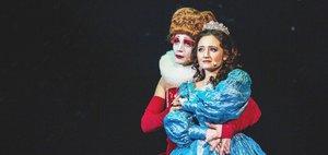 Спектакль «Две королевы»: перед премьерой