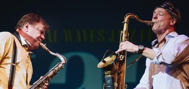 На одной сцене встретились джазовые звезды мирового уровня.