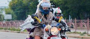 Иркутские байкеры организовали костюмированный мотопробег