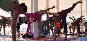 Фестиваль йоги на Байкале
