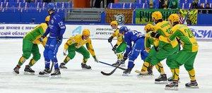 Кубок России по хоккею с мячом в Иркутске