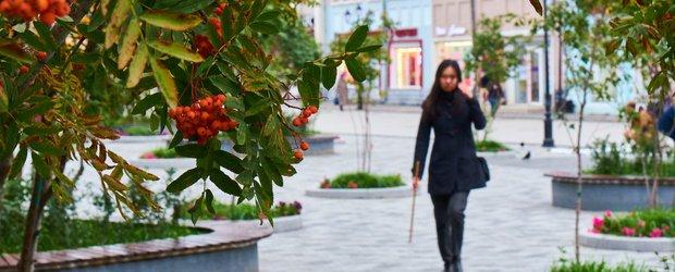 Ранняя осень в Иркутске