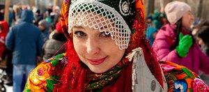 Масленица в Иркутске