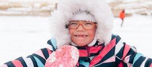 Ледовый поход для инвалидов по Байкалу