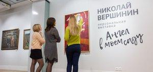 Открытие первой интерактивной выставки в Галерее Виктора Бронштейна