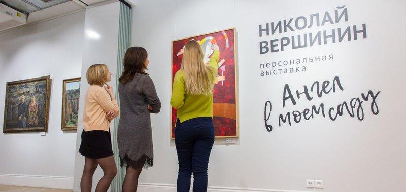В новом формате представили картины Николая Вершинина.