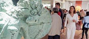 В Галерее Бронштейна появились новые скульптуры Даши Намдакова