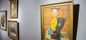 Выставка картин Любови Бертаковой
