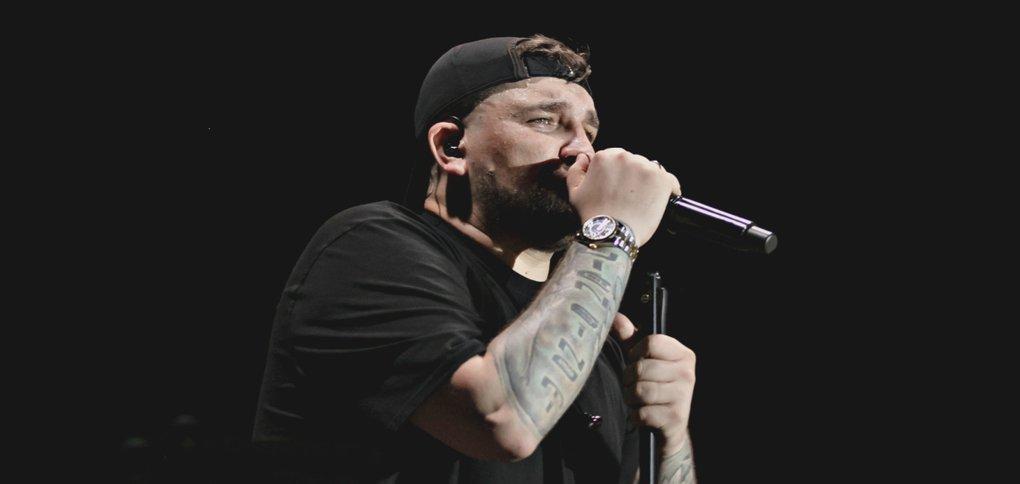 Рэп-исполнитель выступил в Иркутске 10 июня.