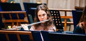 На репетициях Губернаторского симфонического оркестра