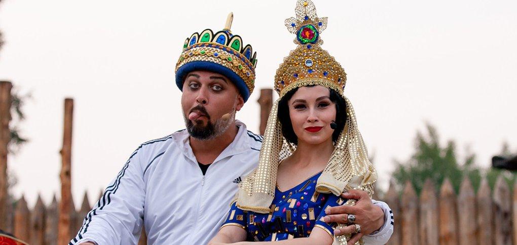 Концерт прошел в рамках фестиваля русской оперы под открытым небом.