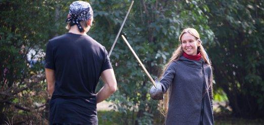 Фестиваль фехтования в Иркутске