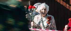 Праздничное шествие в честь Великой Победы