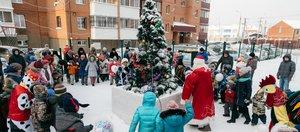 Праздничные мероприятия прошли в жилых комплексах «Восток Центр Иркутск»