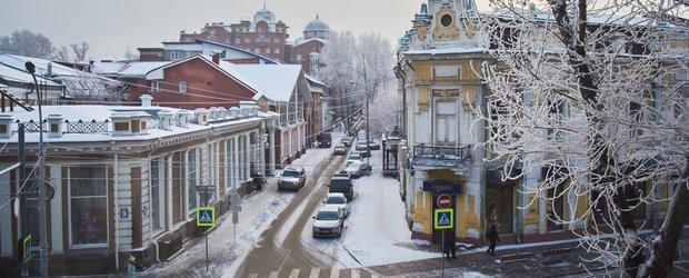 Зимний Иркутск