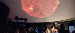 Большой иркутский планетарий принимает гостей