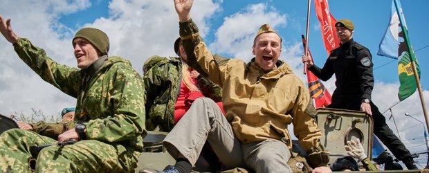 Как прошел День Победы в Иркутске