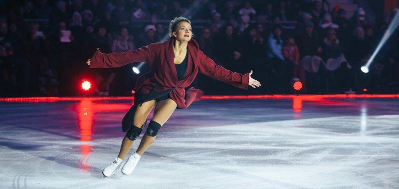 Участники шоу выступили во дворце спорта «Ермак».
