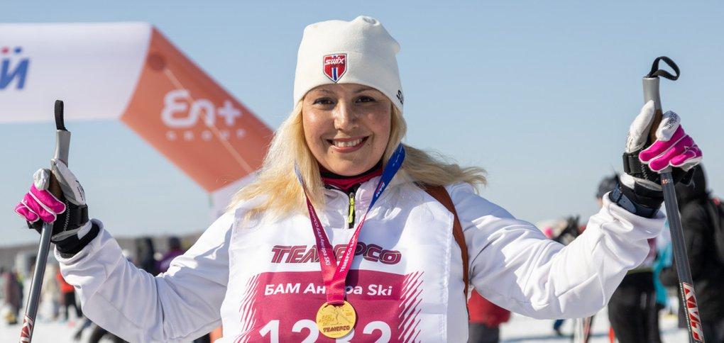 Заключительное спортивное мероприятие лыжного сезона Марафонов БАМ.