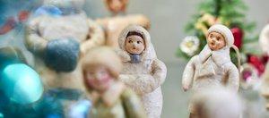 Выставка советских ёлочных игрушек открылась в усадьбе Сукачева