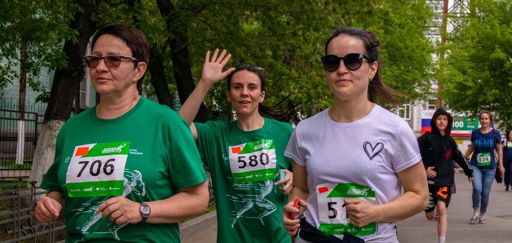 В забеге на День города приняли участие более 1200 иркутян.