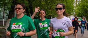 Зелёный марафон Сбера