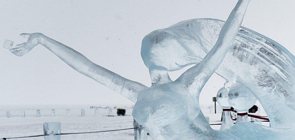 На Байкал приехали мастера ледовой скульптуры со всей России.