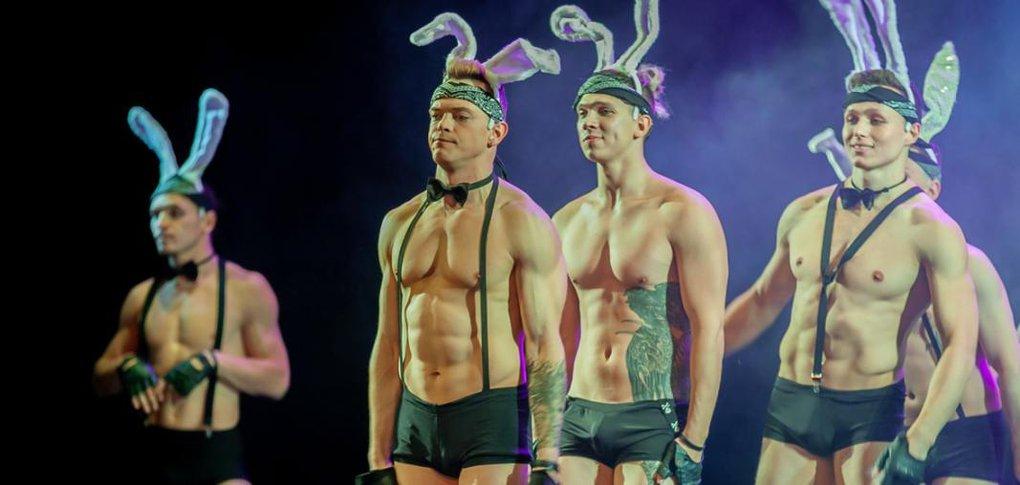 В Иркутске выступил театр танца «Искушение» из Санкт-Петербурга.