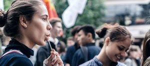 Парад иркутского студенчества