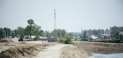 Завершающие работы по реконструкции Покровской развязки