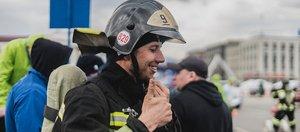 Международный чемпионат по пожарному кроссфиту в Иркутске