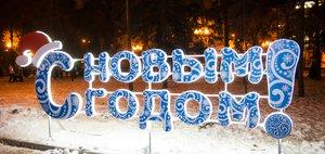 Главная новогодняя елка открылась в Иркутске