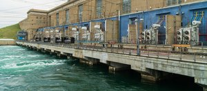 Замена гидроагрегата на Иркутской ГЭС