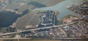 Праздничный полет над Иркутском