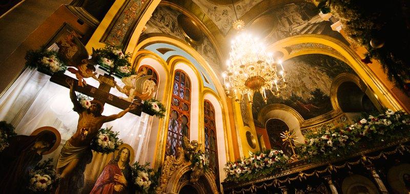 Праздничное богослужение прошло в ночь с 6 на 7 января.